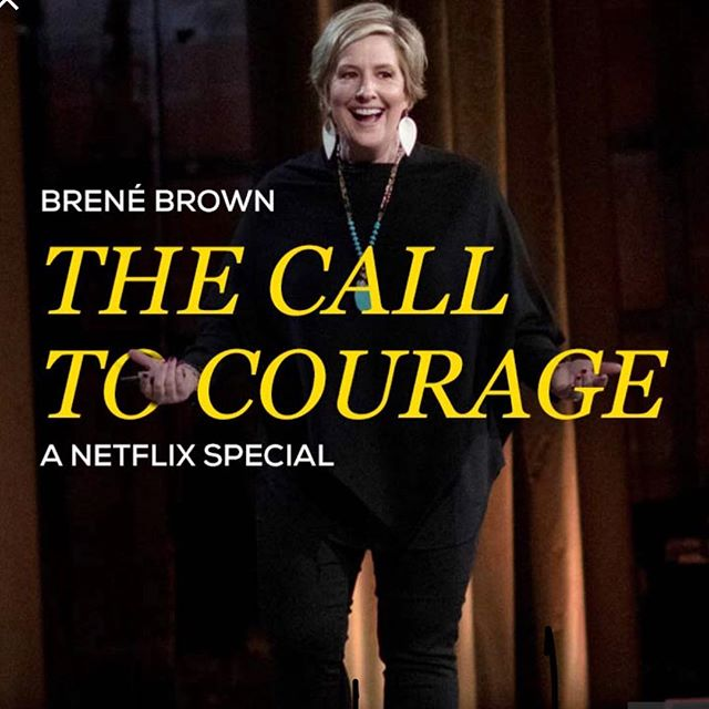 A MUST SEE.  #courage #vulnerability #shame #rolemodel thank you @melissawoodhealth for pointing out this special.  #netflix