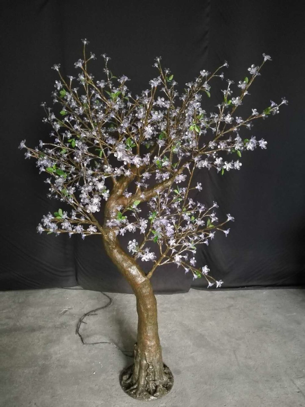 7' Folsom Warm White CherryBlossom Tree