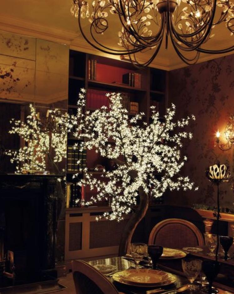 Interior Flatiron Tree