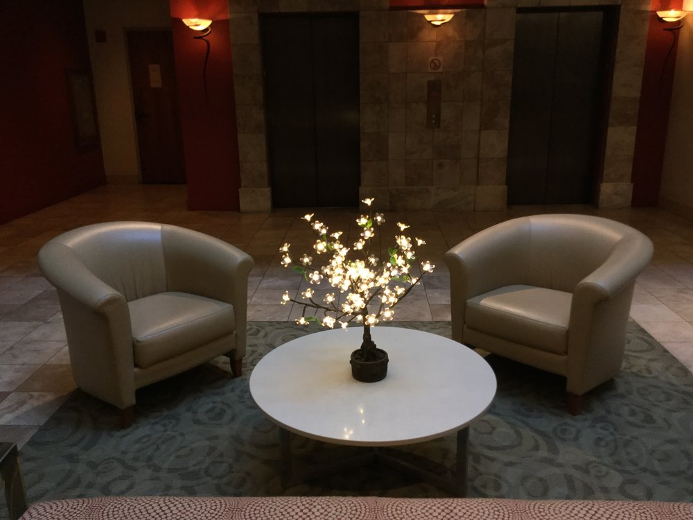 2ft TableTop   Tabletop trees compliment flowers and candles or can easily stand alone for a stunning table display. They are perfect for weddings, corporate events and special dinner occasions. These trees are beautifully designed with bendable branches and measure 2 feet in height and 2 feet in width and have 80 LEDs.  These trees use x aa batteries (included in rental price). The lights will begin to dim after 6-8 hours of operation.  (please note: there is a minimum order so mini trees are typically rented as part of a larger rental.)    Available in Warm White Only!         $50 per tree