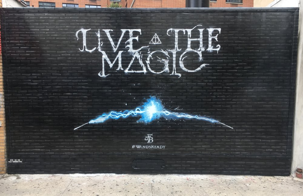 """LIVE THE MAGIC - """"Fantastic Beasts"""" The Crimes Of GrindelwaldNew York, SEPTEMBER 2nd 2018#WANDSREADY"""
