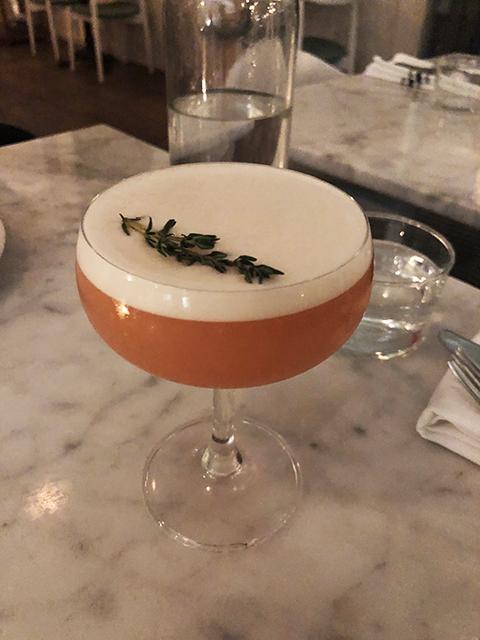 The Wood Mocktail at LOV