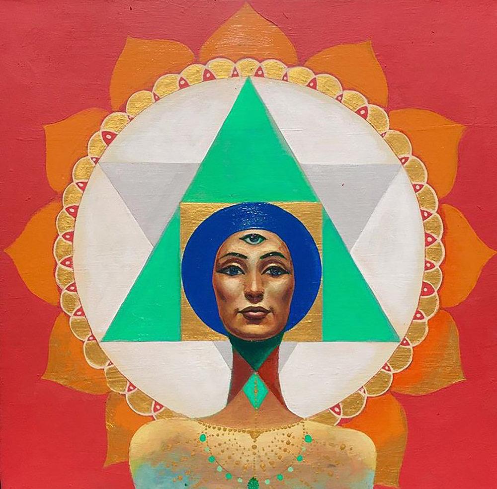 Divine Feminine by Rex Hamilton