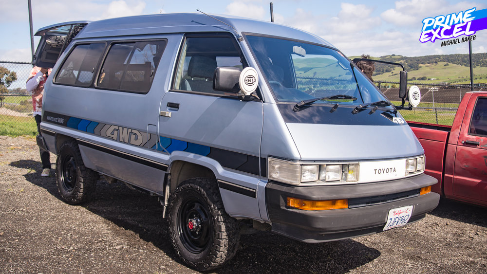 You probably won't find a lifted, 4WD, Mid-engined Toyota van at your local Cars & Coffee.