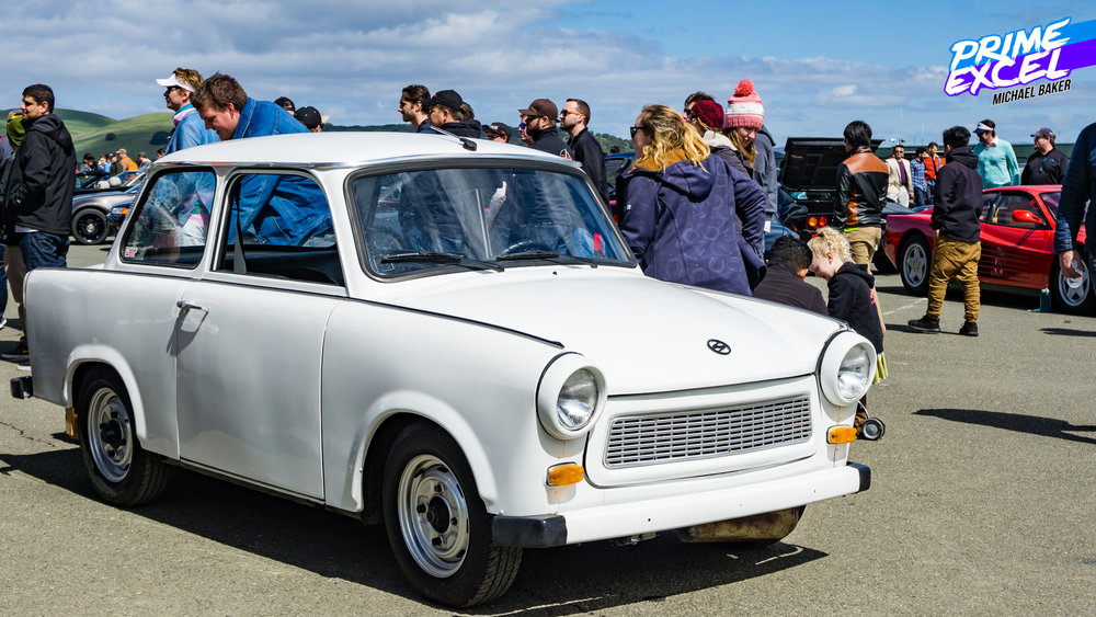 This Trabant was essentially the embodiment of Hooptie-Con. As a weird car from the 80's, it would have been appropriate at Radwood, Concours D'Lemons or Billetproof.