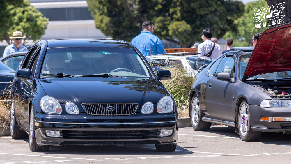 One of the newer cars at the show, a 1998 Lexus GS400. This generation of GS was built until 2005.