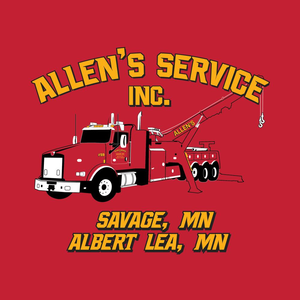 Allen's Service Truck Logo 2017