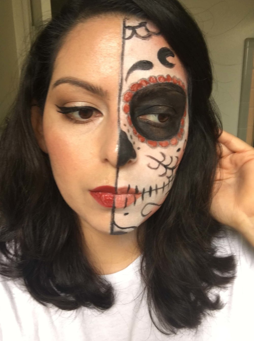 Day of the Dead Look