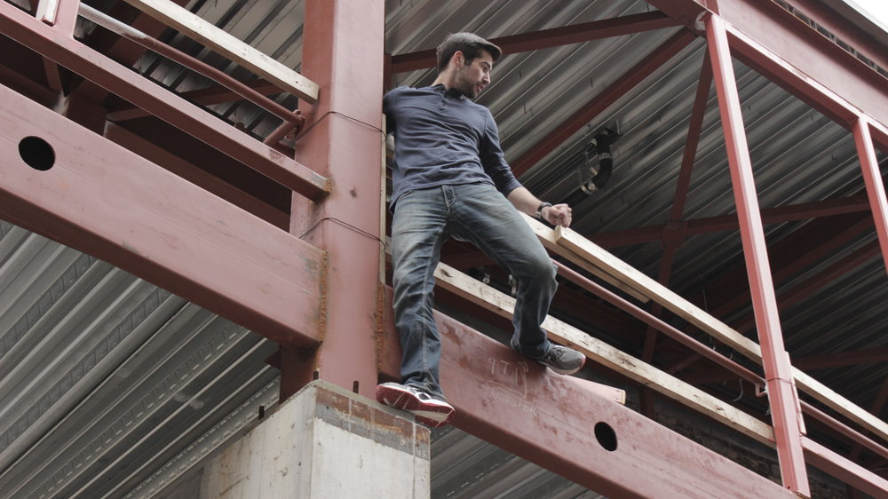 Kent Dean (Mark Sanders) is a parkour enthusiast. We didn't use that talent nearly enough, but he still managed to find a couple excuses to climb around and make us all laugh.