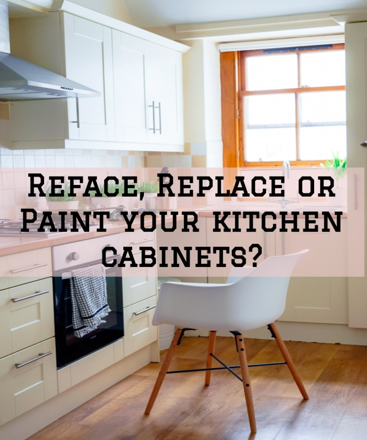 Reface, Replace or Paint your kitchen cabinets? — Ron Rice ...