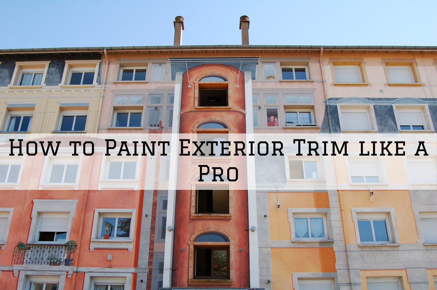 How To Paint Exterior Trim Like A Pro In San Diego Ca Ron Rice Painting Consulting
