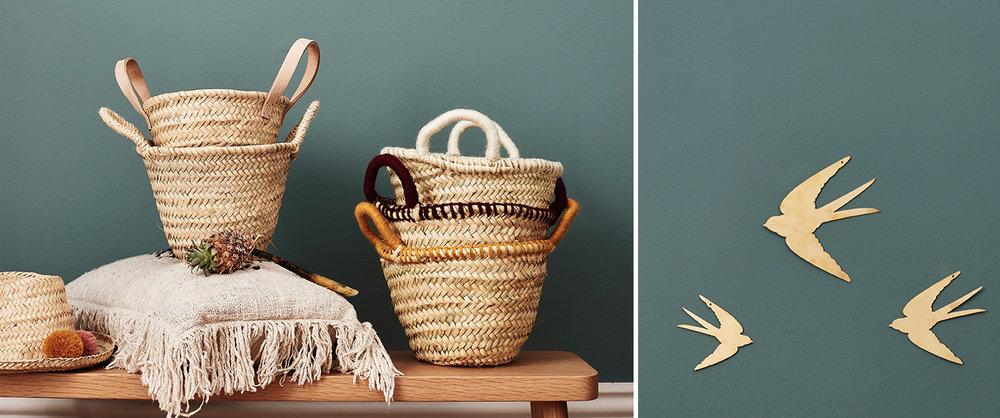 Tumbleweed Baskets & Swallows