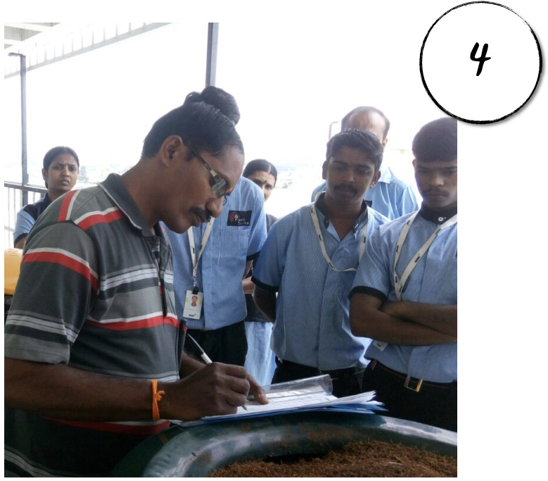 Training  - Training your housekeeping staff and food vendors on waste segregation process