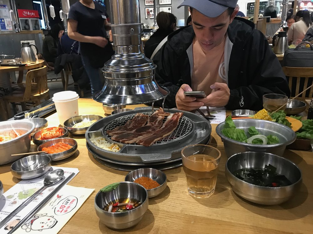 Korean BBQ - We had KBBQ for lunch after massages. Talk about Massge + Food coma. We were OUT for a few hours after this.