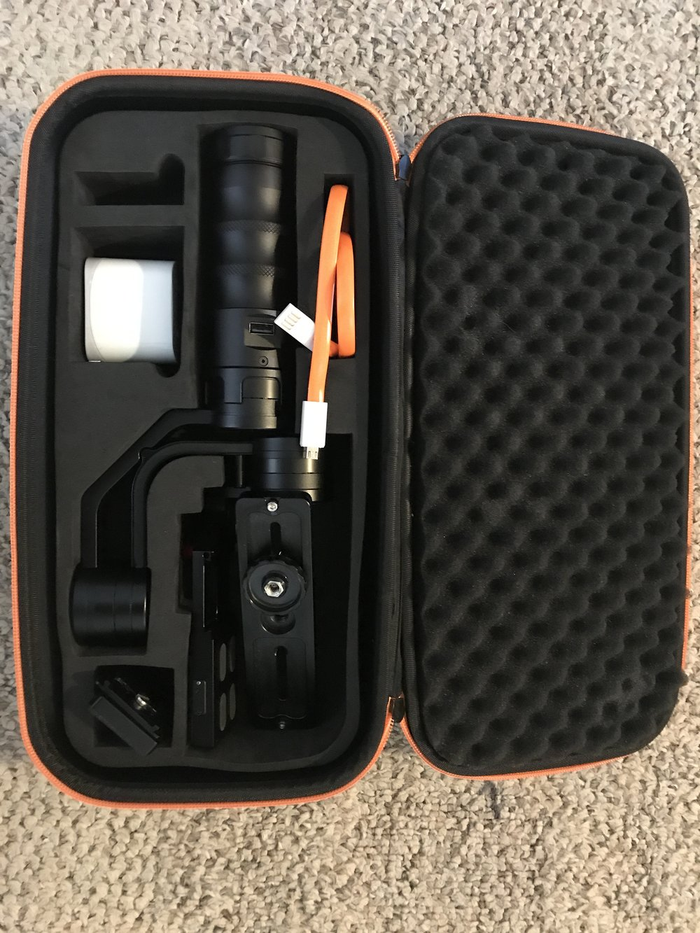 $250 GREAT CONDITION Ikan MS PRO Beholder 3 AXIS Motorized Gimbal  - includes Lithion Ion battery and protective CaseRETAIL: $599