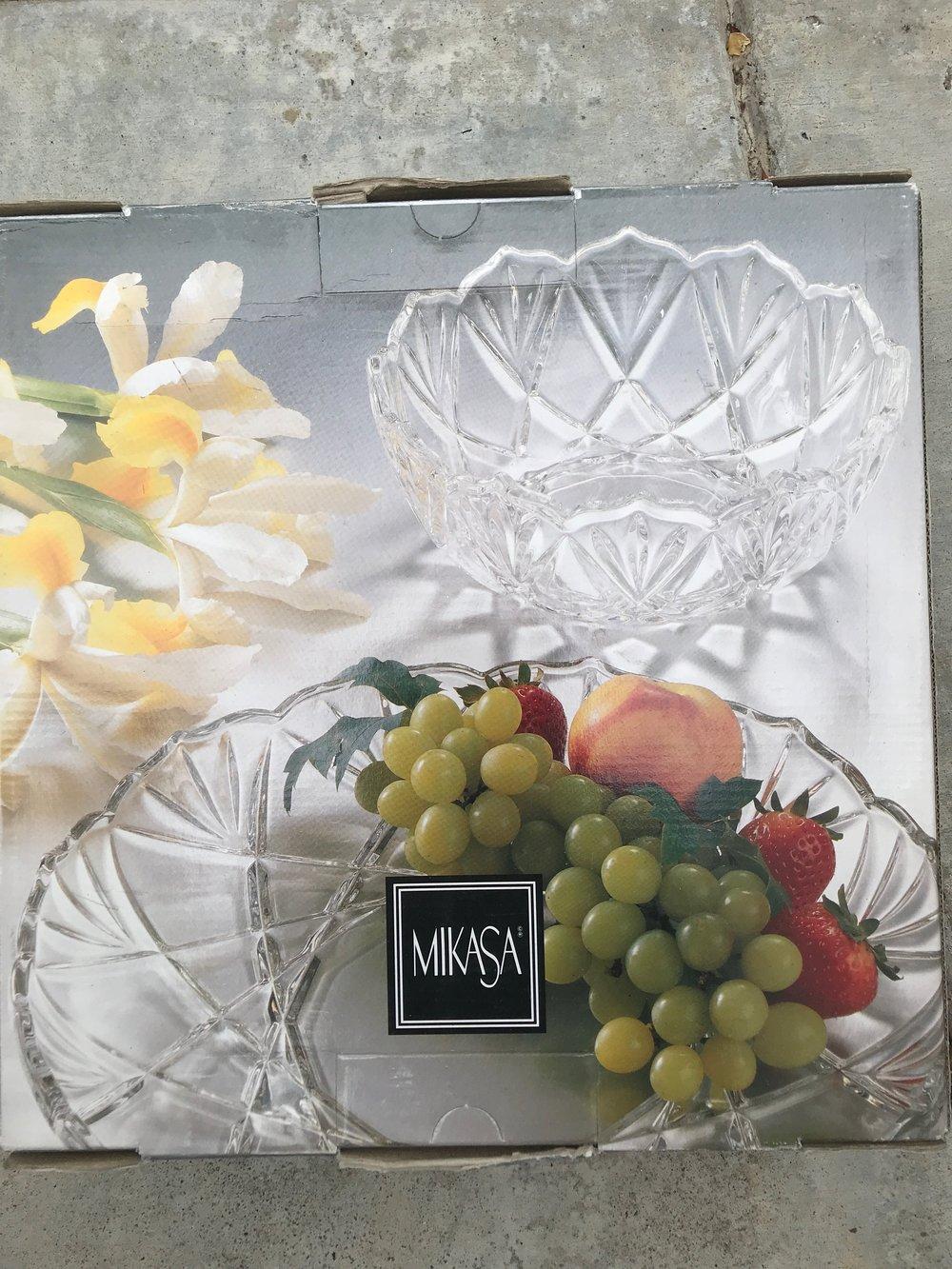 $10 BRAND NEW unopened glass bowl - Perfect wedding gift china.RETAIL: $45