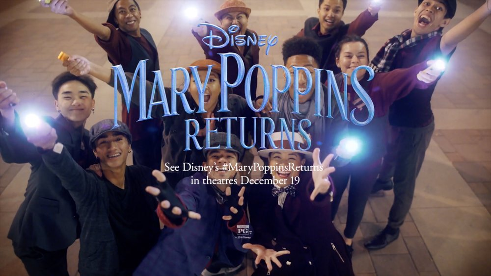 Mary Poppins Returns Promotion - We were fortunate to be a part of the Mary Poppins Returns promotion. Check out the video below.