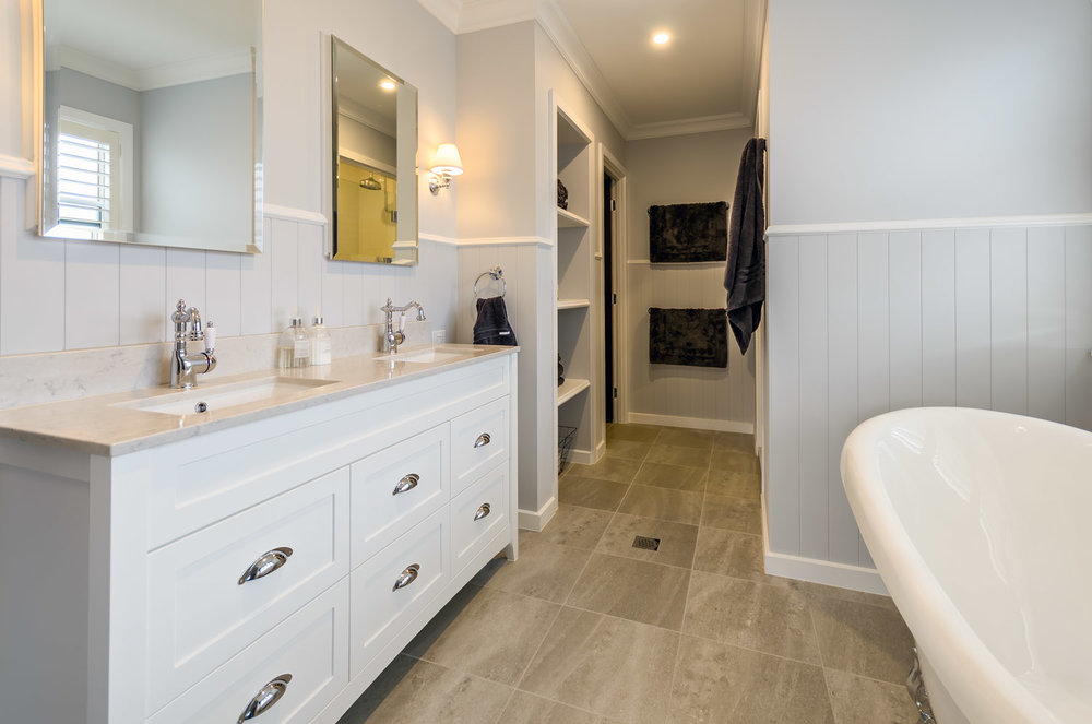+Add on  - VANITY / BATHROOM DESIGNDo you need help with your laundry design or laundry cabinetry layout?Ordering laundry cabinetry at the same time as your kitchen can save on consultation fees and material costs, so it's a good idea to add these in from the get-go.