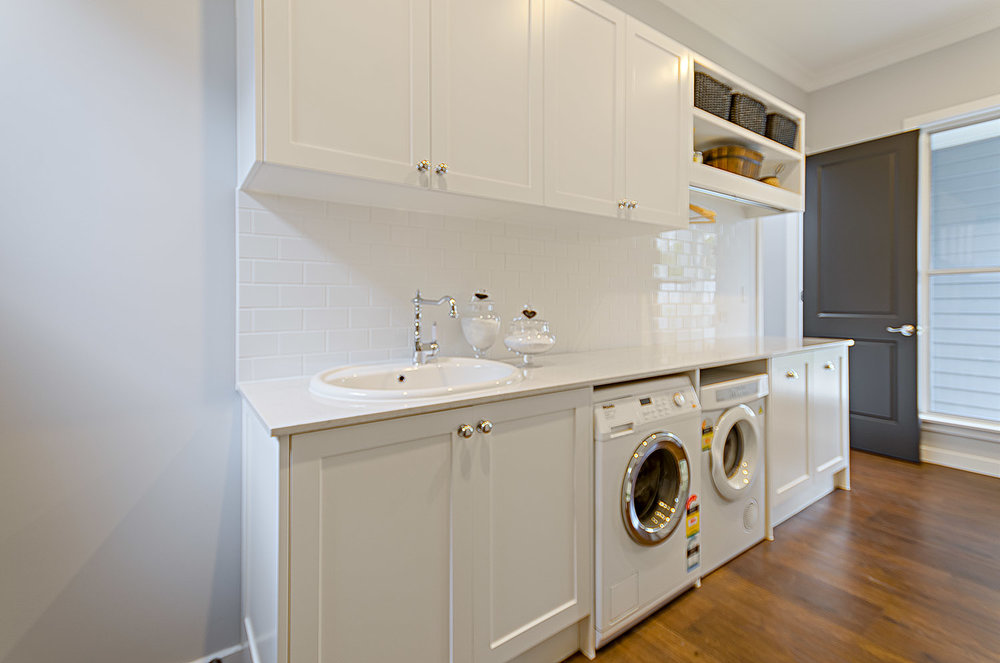 + Add on - LAUNDRY / LAUNDRY ROOM DESIGNDo you need help with your laundry design or laundry cabinetry layout?It is always best to order cabinetry at the same time to save on costs of consultations & materials ,so it may be  a good idea to add these in from the get-go.