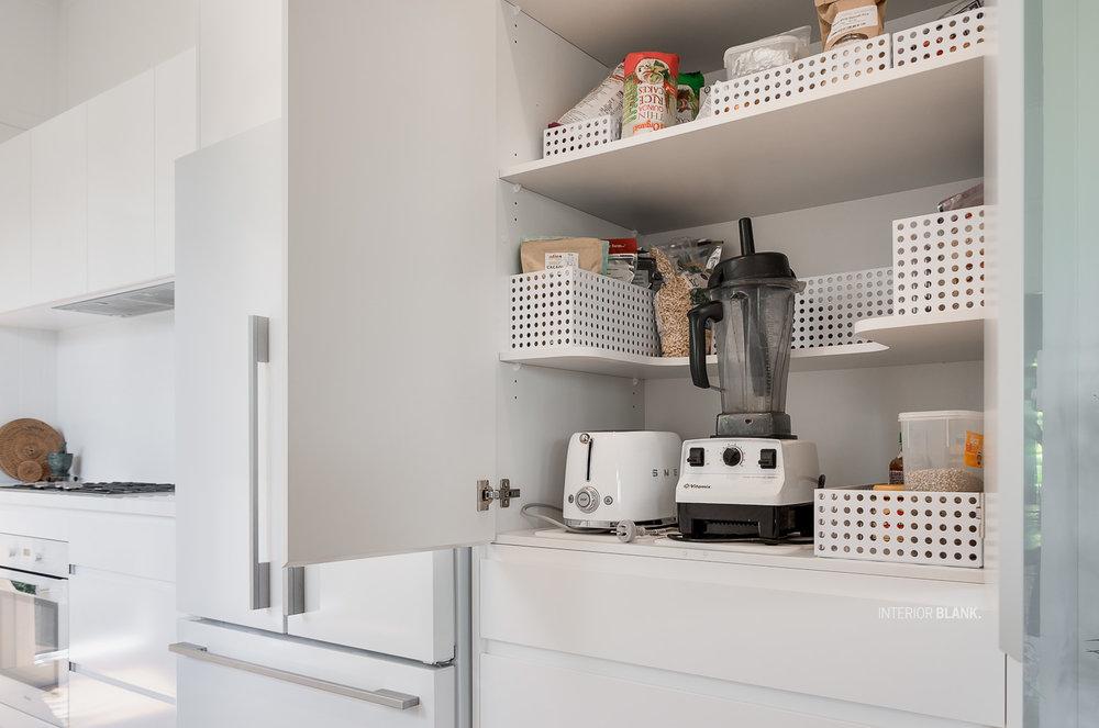 Kitchen Design storage solutions by Interior Blank