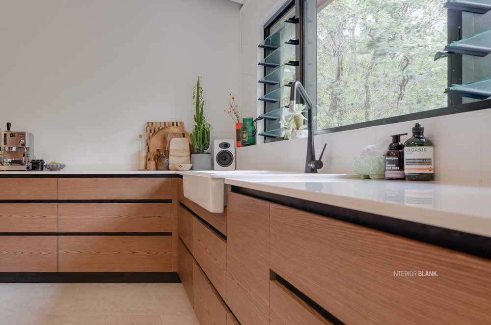 A Kitchen design in Brunswick Heads, Northern NSW. See the before and after photos of this kitchen.