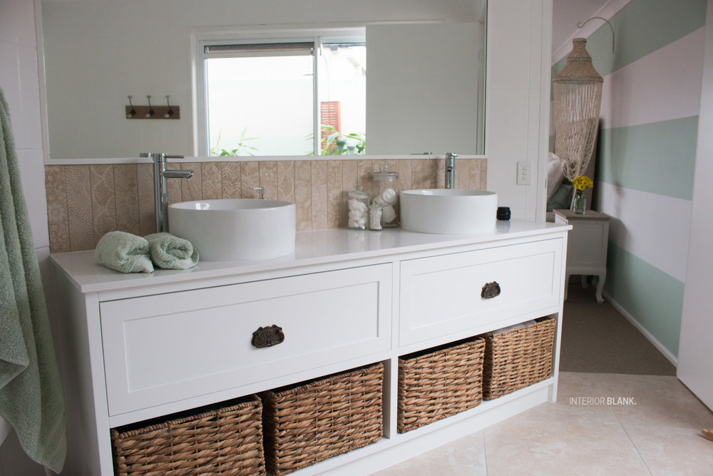 Copy of Custom made bathroom cabinetry