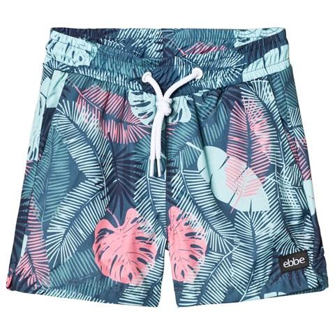 AlexandAlexa eBBe Kids Blue Tropical Bali Swim Shorts, £25.jpg