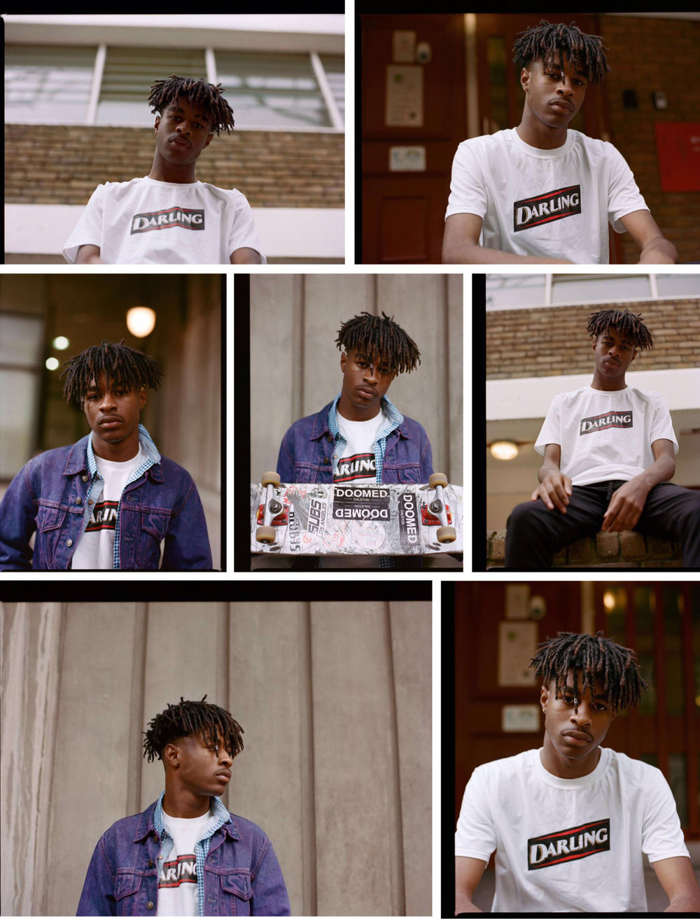 We feel privileged to have the photographer Rosie Matheson shoot Ethan Richards in our Darling tee.  Check out Rosie's website  here  and her Instagram  here , whilst you can also check out Ethan's Instagram  here .