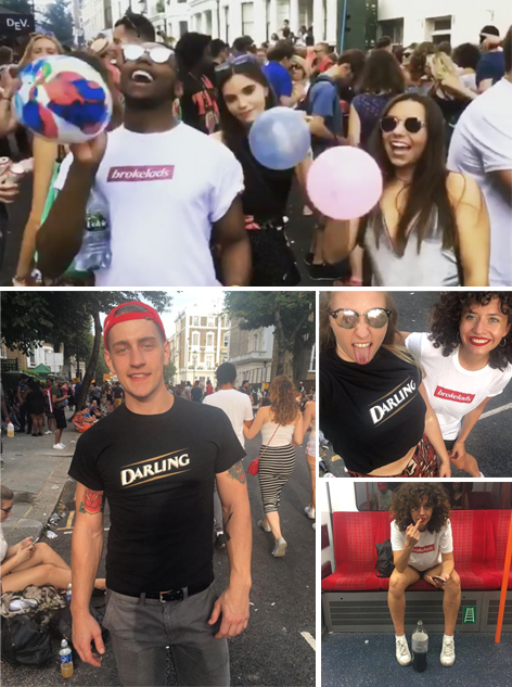 WE'VE BEEN SENT IMAGES FROM YOU GUYS WEARING #OIBOY AT NOTTING HILL CARNIVAL 2017. KEEP THEM COMING!