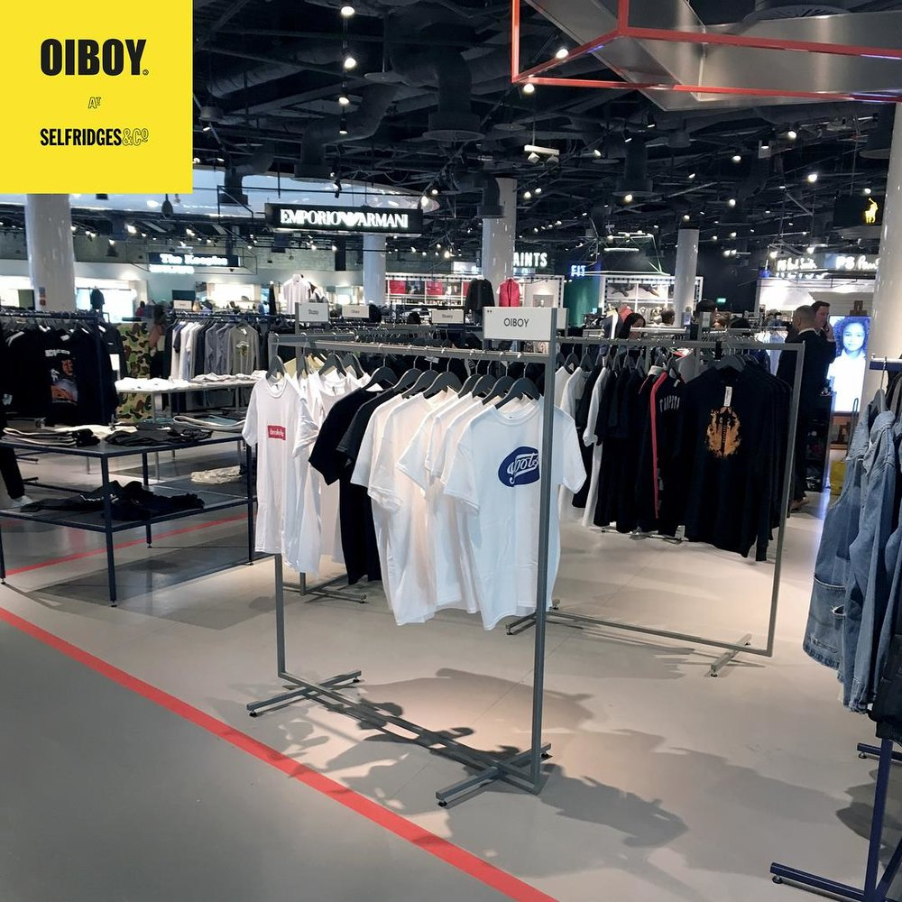 OIBOY HAS LANDED IN SELFRIDGES BIRMINGHAM...