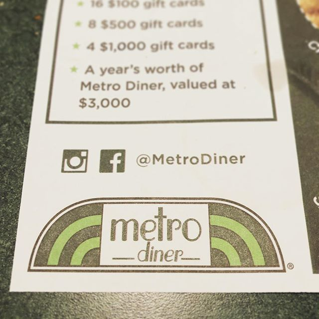 When near #birmingham be sure and eat @metrodiner #delicious