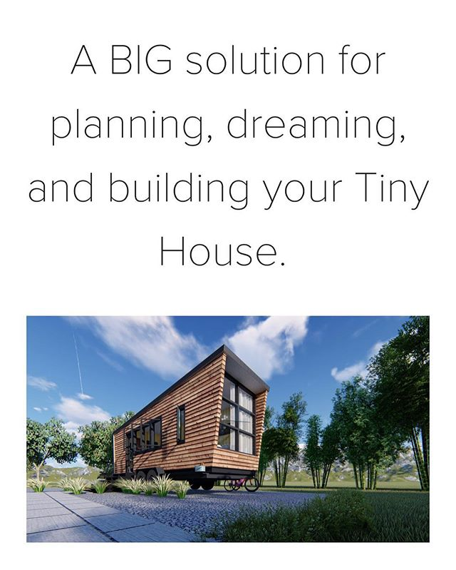 Ever wanted to build your own Tiny House? Step 1: Have construction plans.  Thrilled to have teamed up with @brianpreston over at @lamonluther to be able to offer this to everyone.  Go check out www.gotiny.house  Go check out: www.gotiny.house