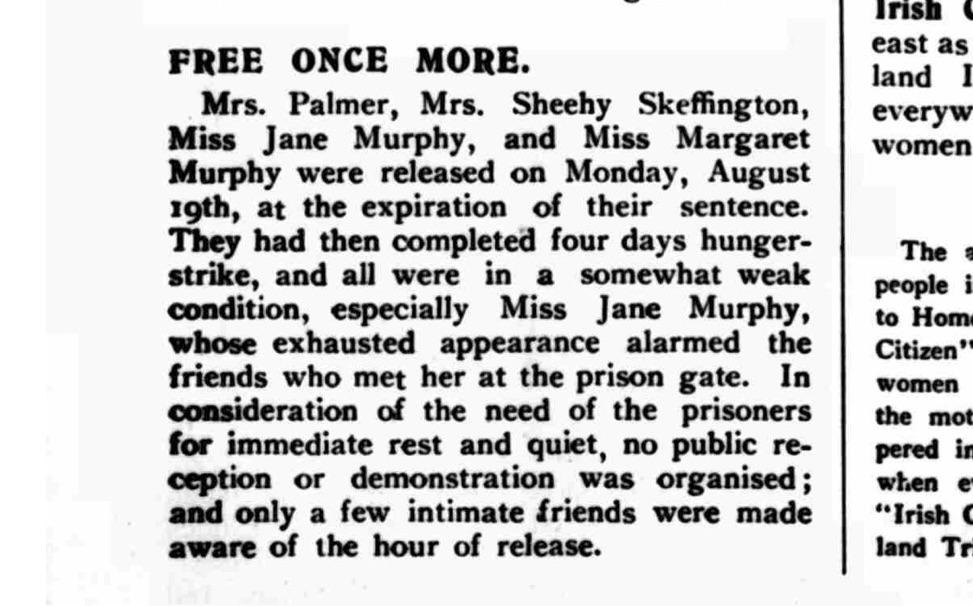 The Irish Citizen, August 24th 1912. British Newspaper Archive.