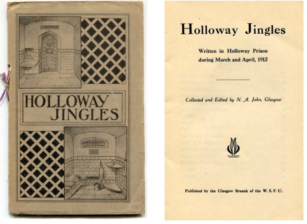 A copy of the pamphlet 'Holloway Jingles' which went for auction recently.