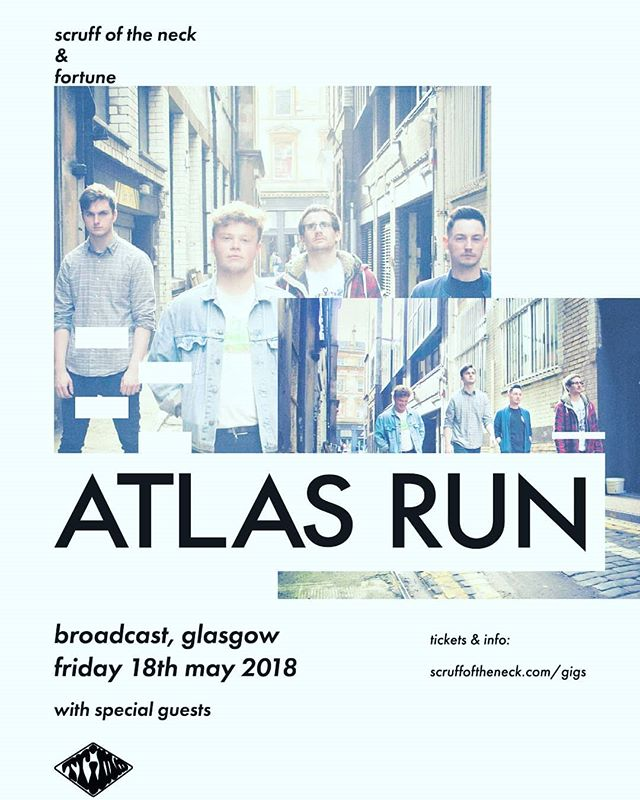 We headline Broadcast in May with @altinak_band and @trimmbandofficial to celebrate the launch of our new singles.  Can't wait for this one, grab tickets ASAP! Link in our bio.  #livemusic #rock #indie #glasgow #scotland #band #gigs #newmusic
