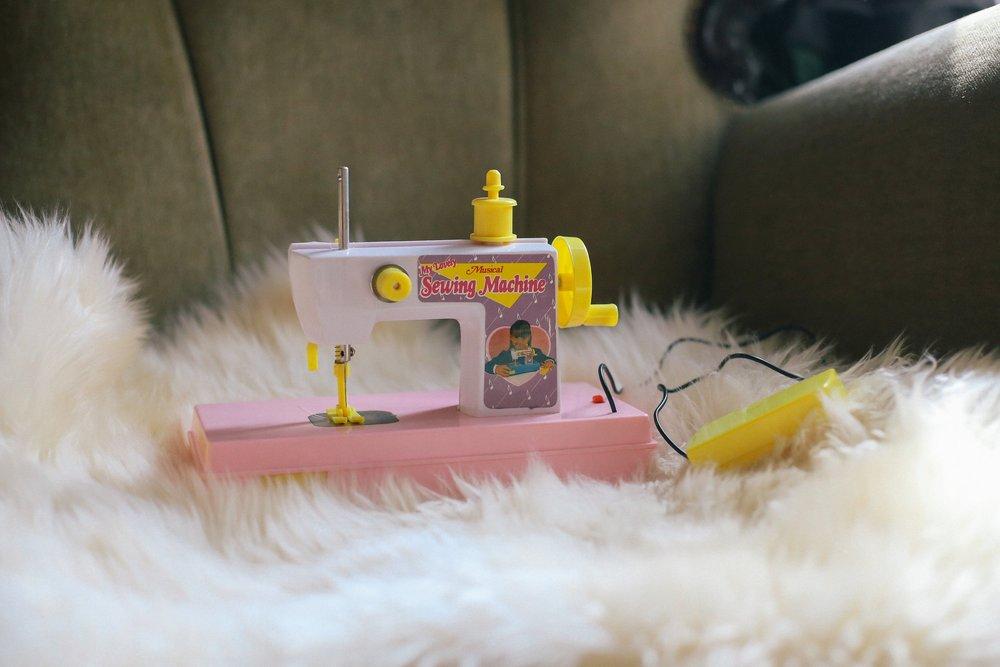 * Mijn allereerste naaimachine *