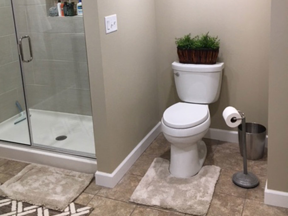 SPRINKEL BATHROOM REMODEL