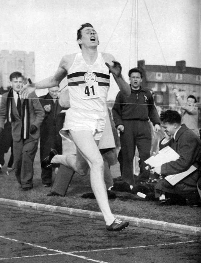 Sir Roger Bannister Icon