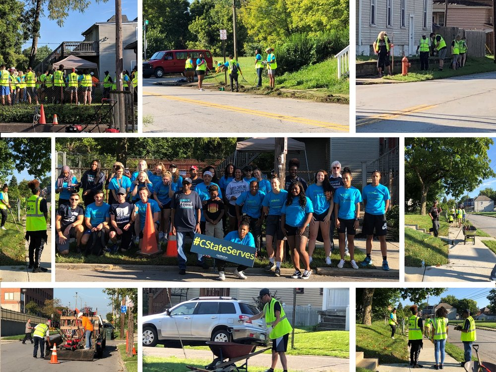 Exterior Home Repair Program helps to beautify Taylor Avenue. -