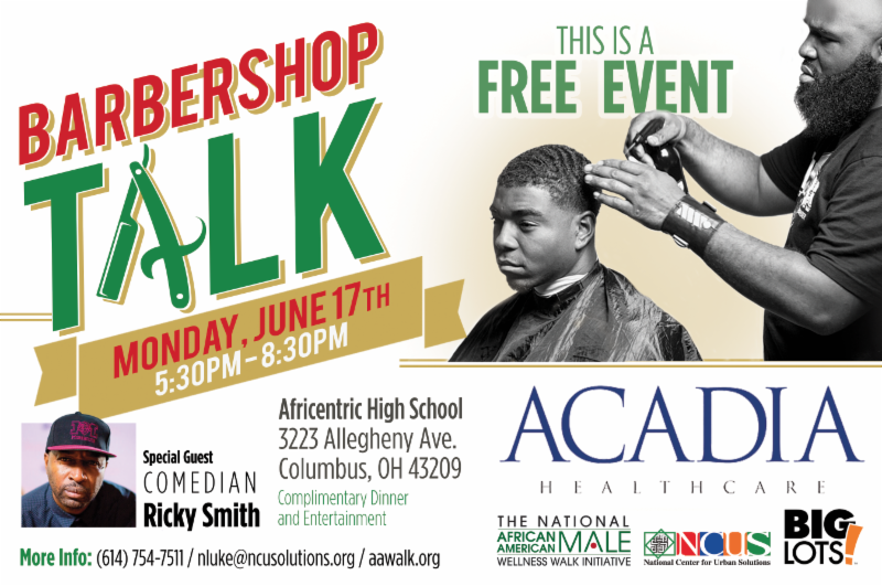 Barbershop Talk - FREE Event — PACT