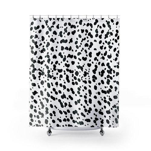 Spots Dalmatian Shower Curtain