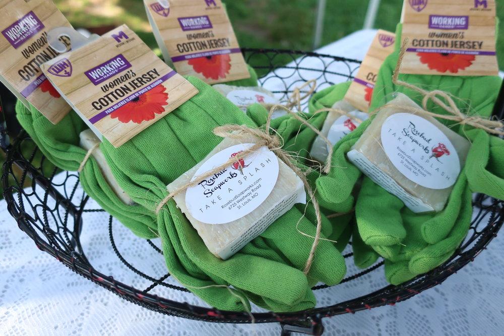 Rosebud Soapworks Garden Gloves