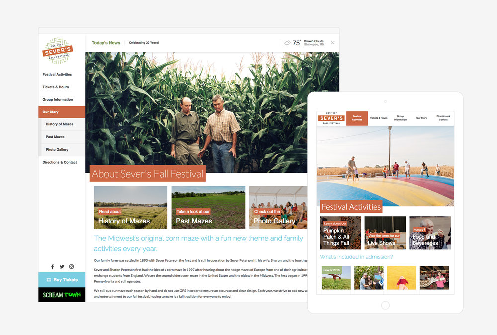 What we do: - At National Machine, we make crisp, clean websites and mobile apps featuring beautiful, editorial photo + video to showcase your organization's story for potential clients and partners.