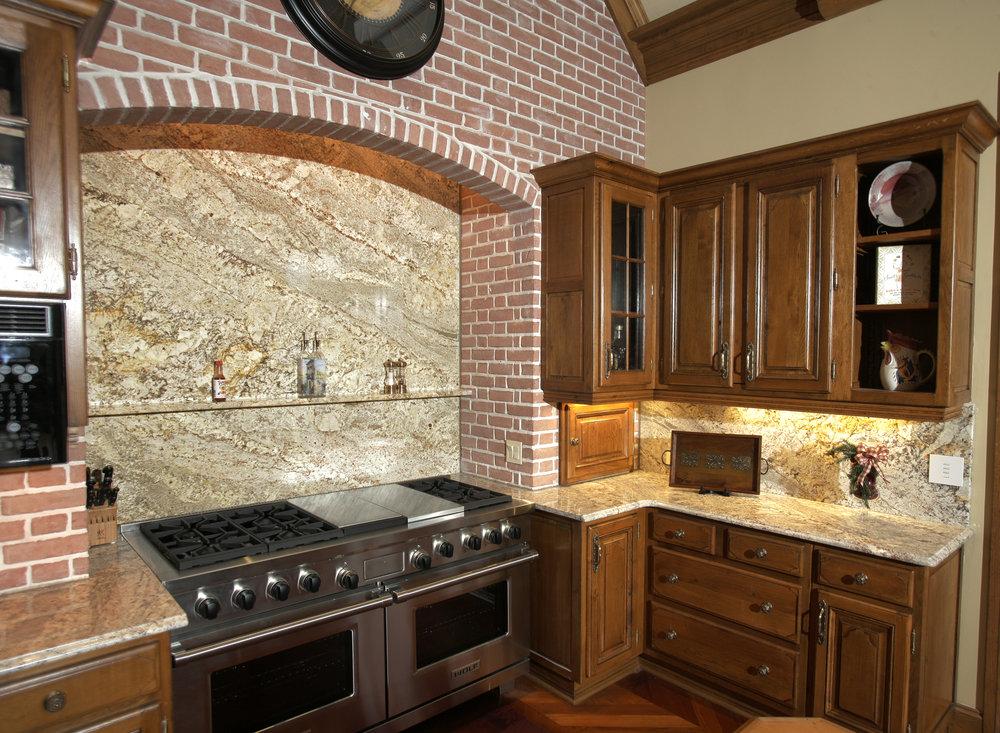 Amazing Stone Kitchen