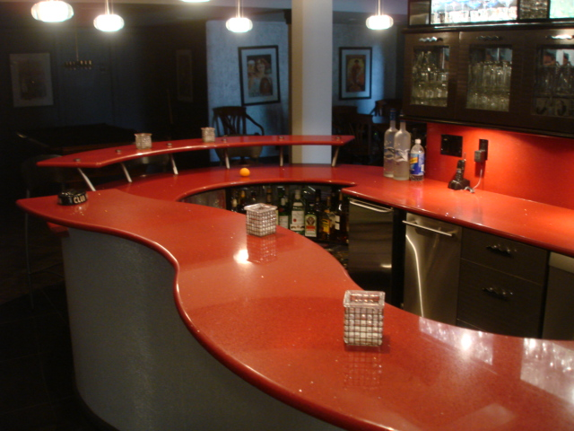 Ruby Granite Bar