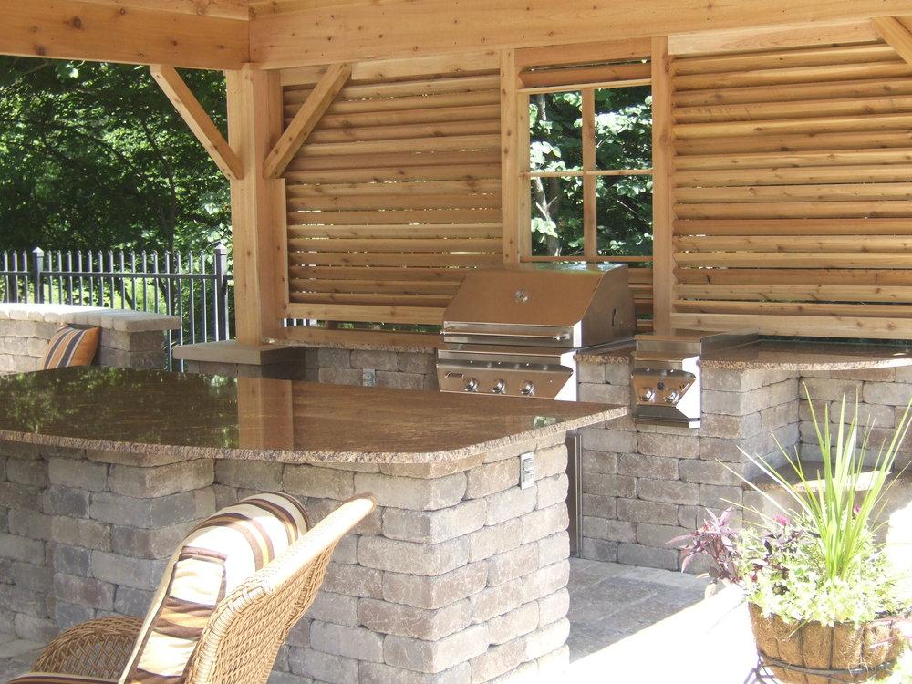 Backyard Granite Bar 1