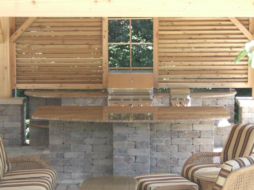 Backyard Granite Bar 2