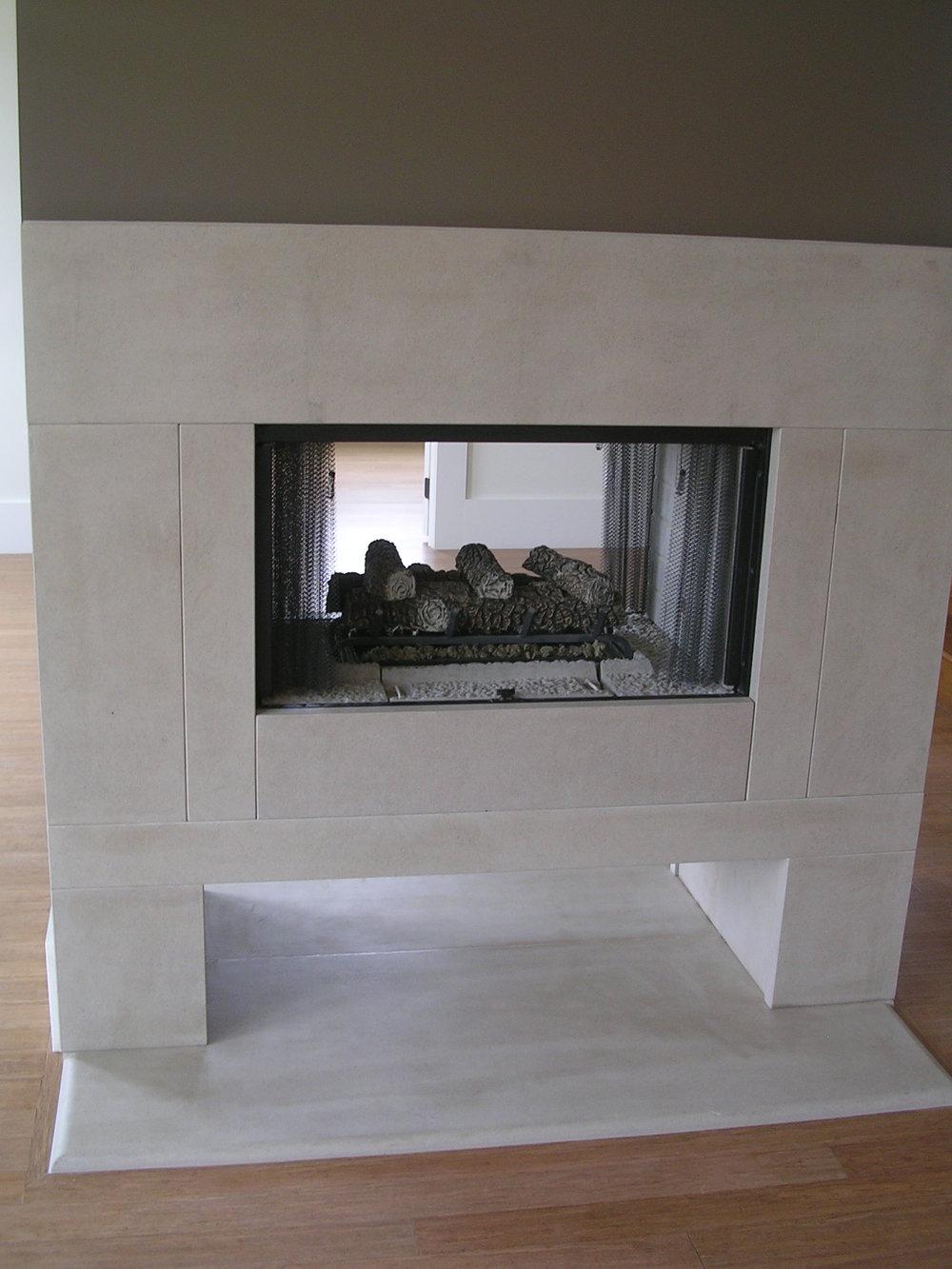 Indiana Limestone FirePlace 2