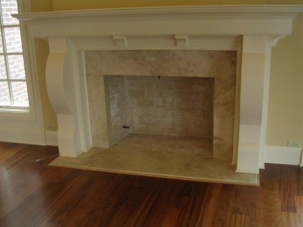 Luxury Granite Stone Fireplace