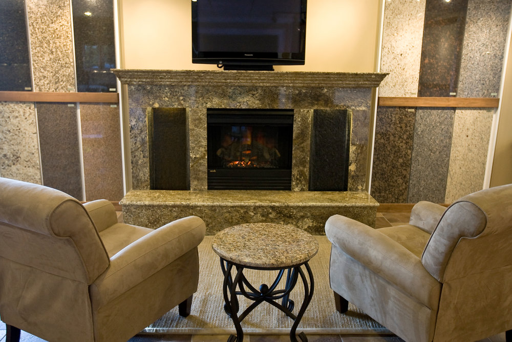 Granite Fireplace Options